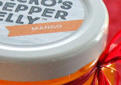 Jacko's Pepper Jelly Packaging