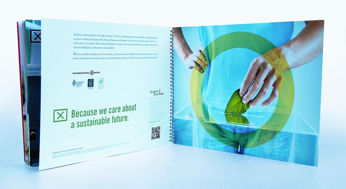 International Paper Sample Kit | Blankenship Creative